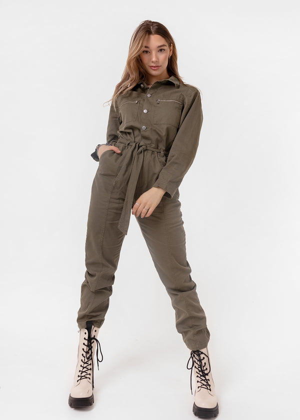 SOPHIE JUMPSUIT | GREEN