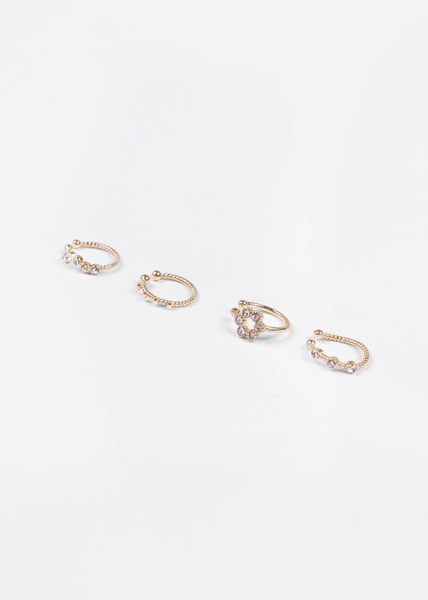 STRASS CUFFS | GOLD