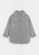 TEDDY SHIRT | GREY