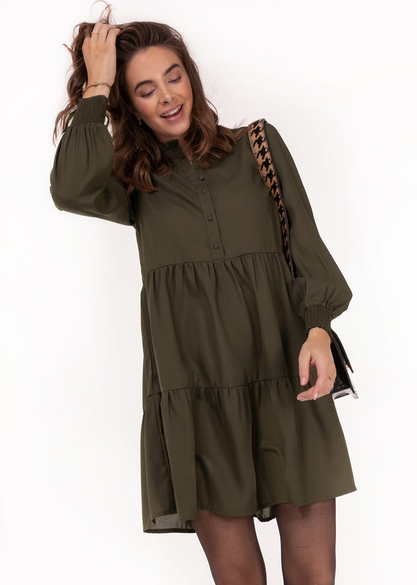 THE FLOWY DRESS | ARMY