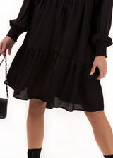 THE FLOWY DRESS | BLACK