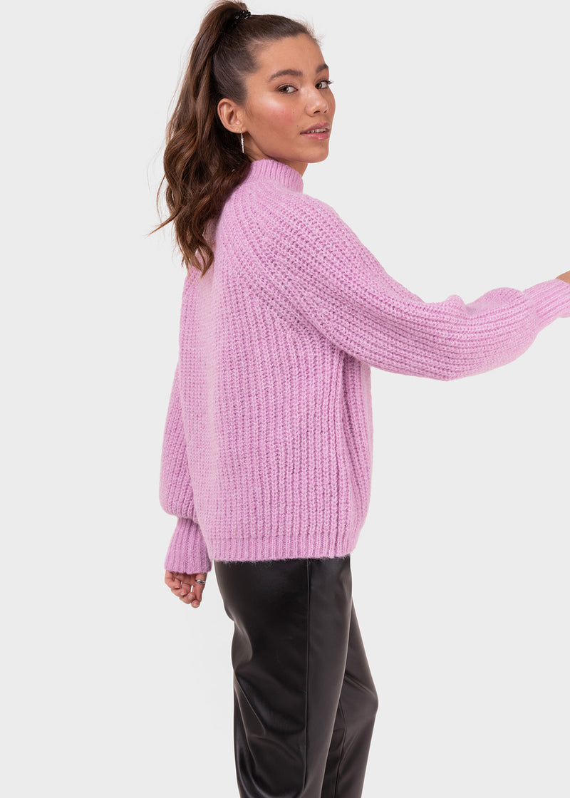 THE KNITTED FAVE | LAVENDER