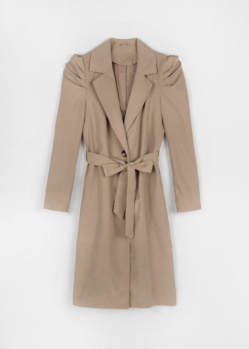 TRENCHCOAT CLASSIC | BROWN