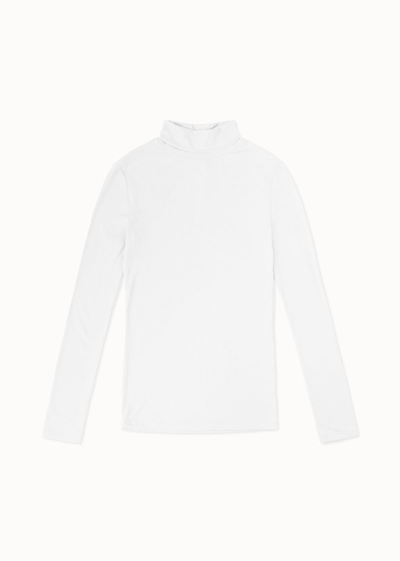 BASE ROLLNECK | WHITE