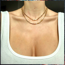 Hermes Style Chain Necklace