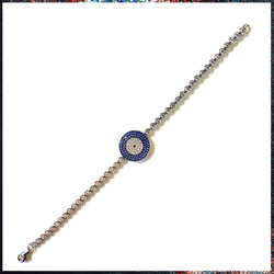 Drip Barre Jewelry Circle Me Evil Eye Bracelet
