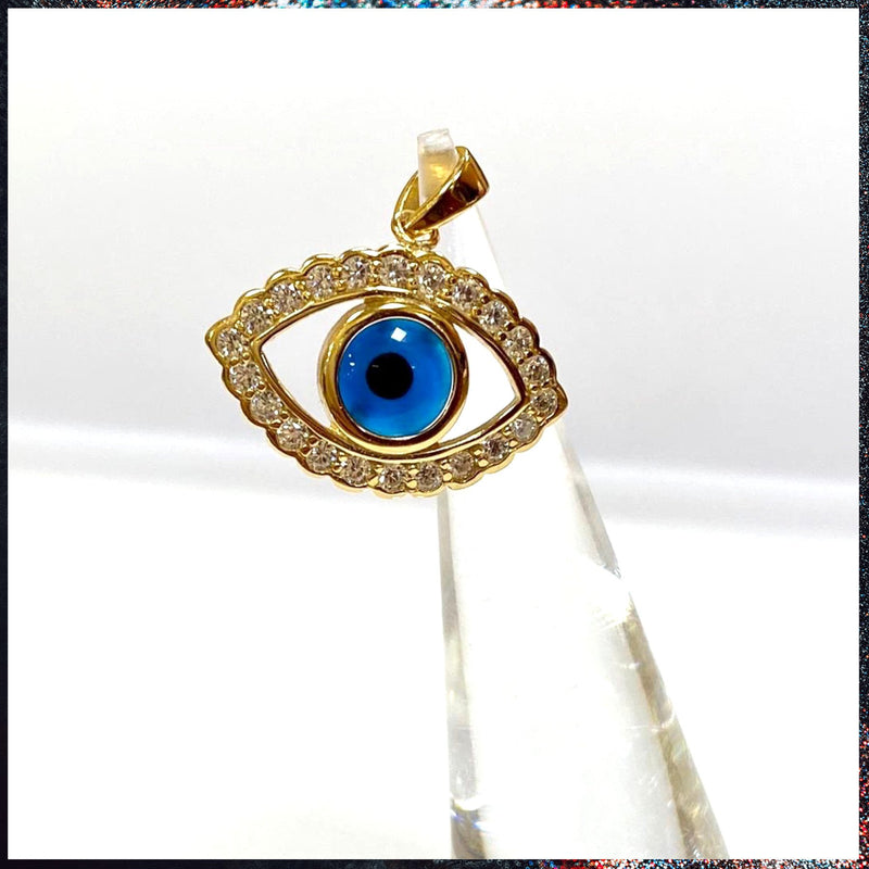 Drip Barre Jewelry Evil Eye Pendant