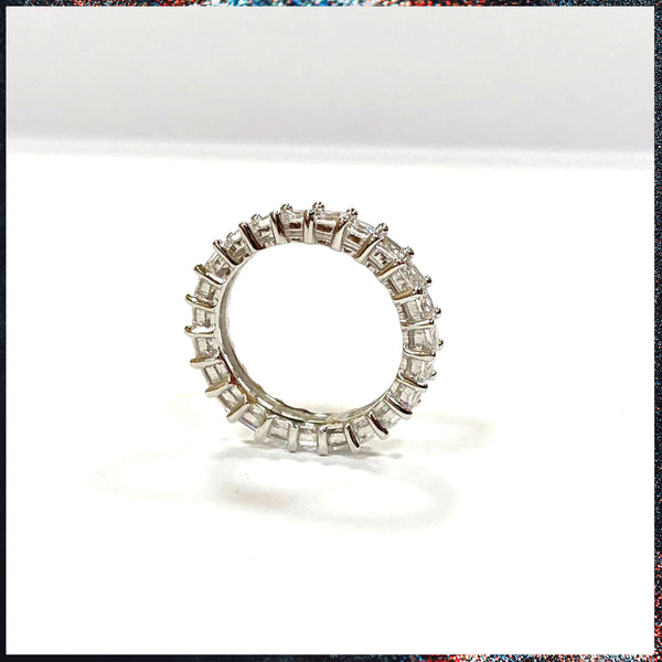 Drip Barre Jewelry Baby Princess Cut Eternity Band