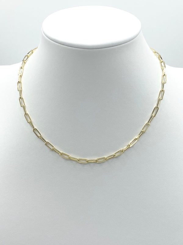 Hermes II Style Chain Necklace