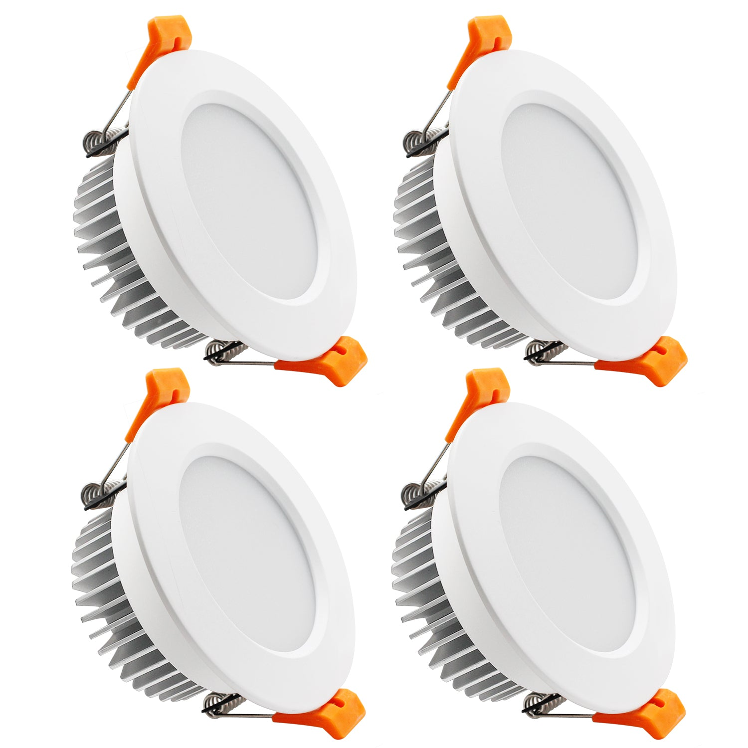 4pack 3 5 Inch Led Recessed Lighting Dimmable Downlight 7w 55w Halo Ygs Tech
