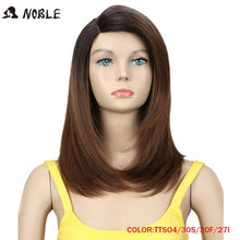 Load image into Gallery viewer, 18 Inch Straight Hair U Part Elastic Lace Synthetic Wigs