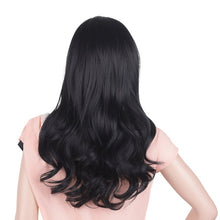 Load image into Gallery viewer, Synthetic Pink Red Gray Purple 26 Inch Long Wavy Wigs