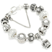 Load image into Gallery viewer, Crown Pendant Charm Bracelets