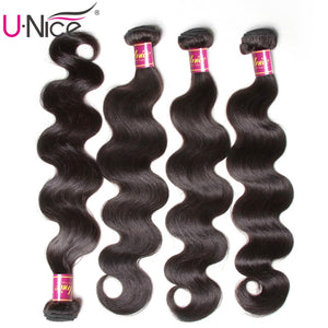 Peruvian Body Wave Hair Bundles 100% Human Hair Extensions 8-30inch Remy Hair Weaving Natural Color 1 Piece