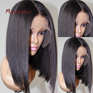 Bob Synthetic Lace Front Wig 180 Density 14-16 inch