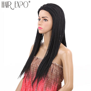 22inch Long Box Braid Synthetic Micro Twist Braid Wigs