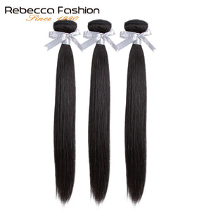 Bundles Deals 100% Straight Human Hair Bundles 8 to 28 Inch Remy Hair Extensions