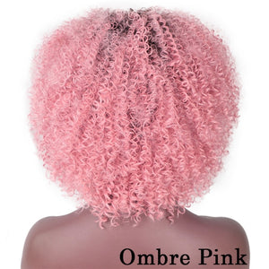Curly Synthetic Wigs available in other colors also