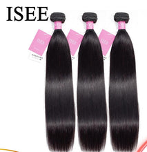 Load image into Gallery viewer, Peruvian Straight Hair Extensions Human Hair Bundles No Tangle Can Buy 1/3/4 Bundles Remy