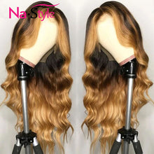Load image into Gallery viewer, Ombre 13x4 Lace Front Human Hair Wigs