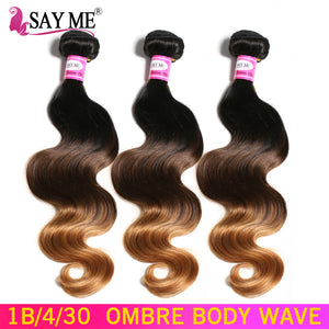 Non-Remy Ombre Human Hair Extensions