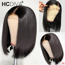 Load image into Gallery viewer, 13*4 Lace Front Brazilian Remy Human Hair Wig