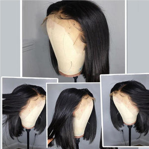 13*4 Lace Front Brazilian Remy Human Hair Wig