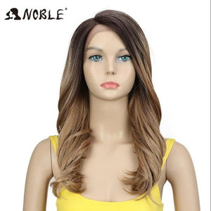 Synthetic 20Inch Ombre Hair Lace Front Wig