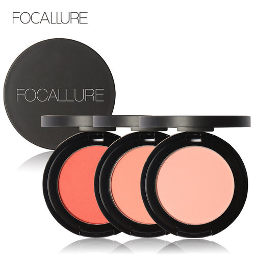 FOCALLURE 11 Colors Face Mineral Pigment Blusher Blush Powder