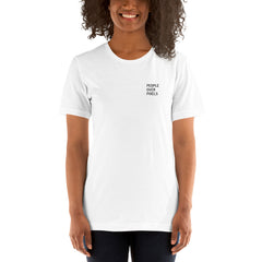 BrandHoot People Over Pixels Short-Sleeve - Unisex