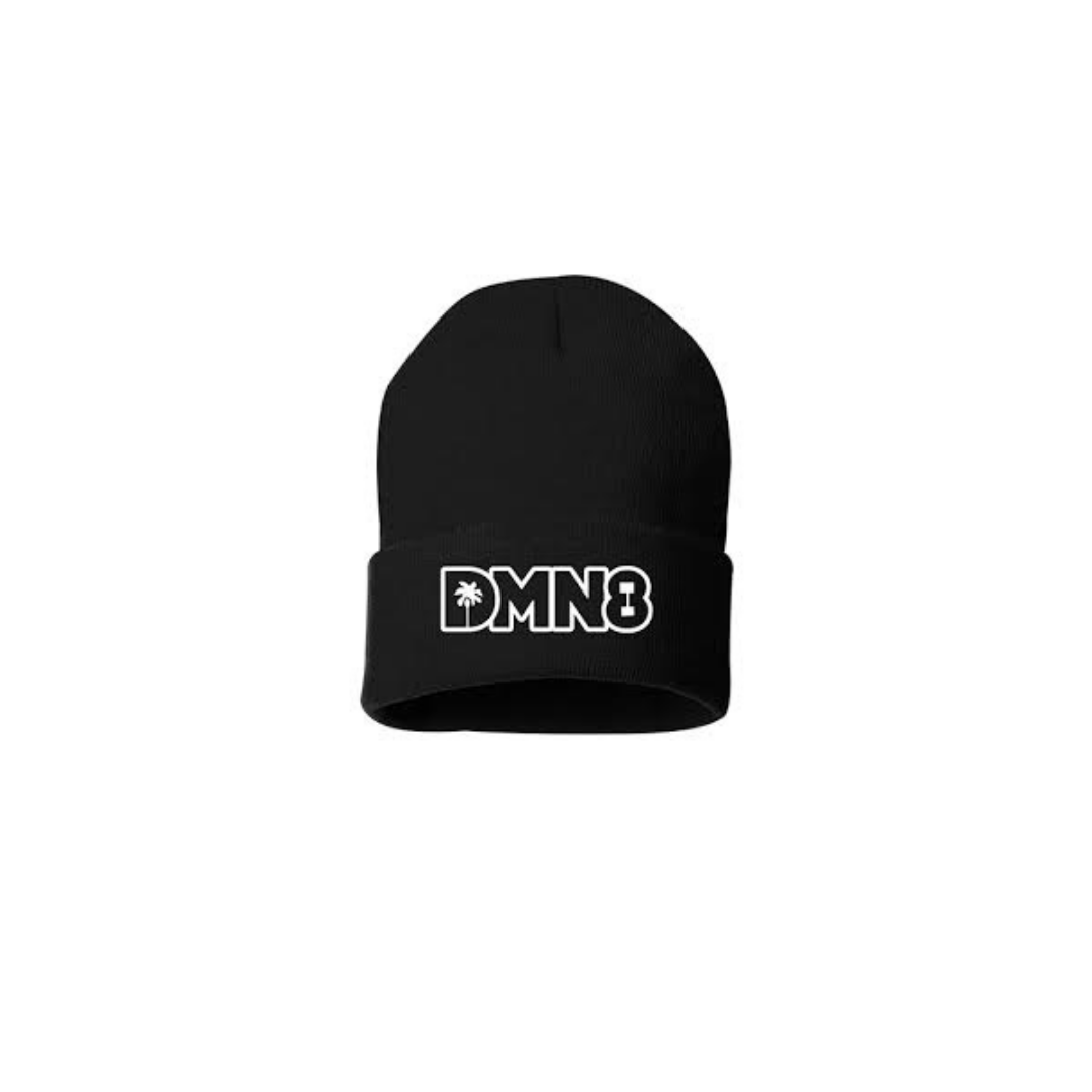 NEW Black Fold Beanie