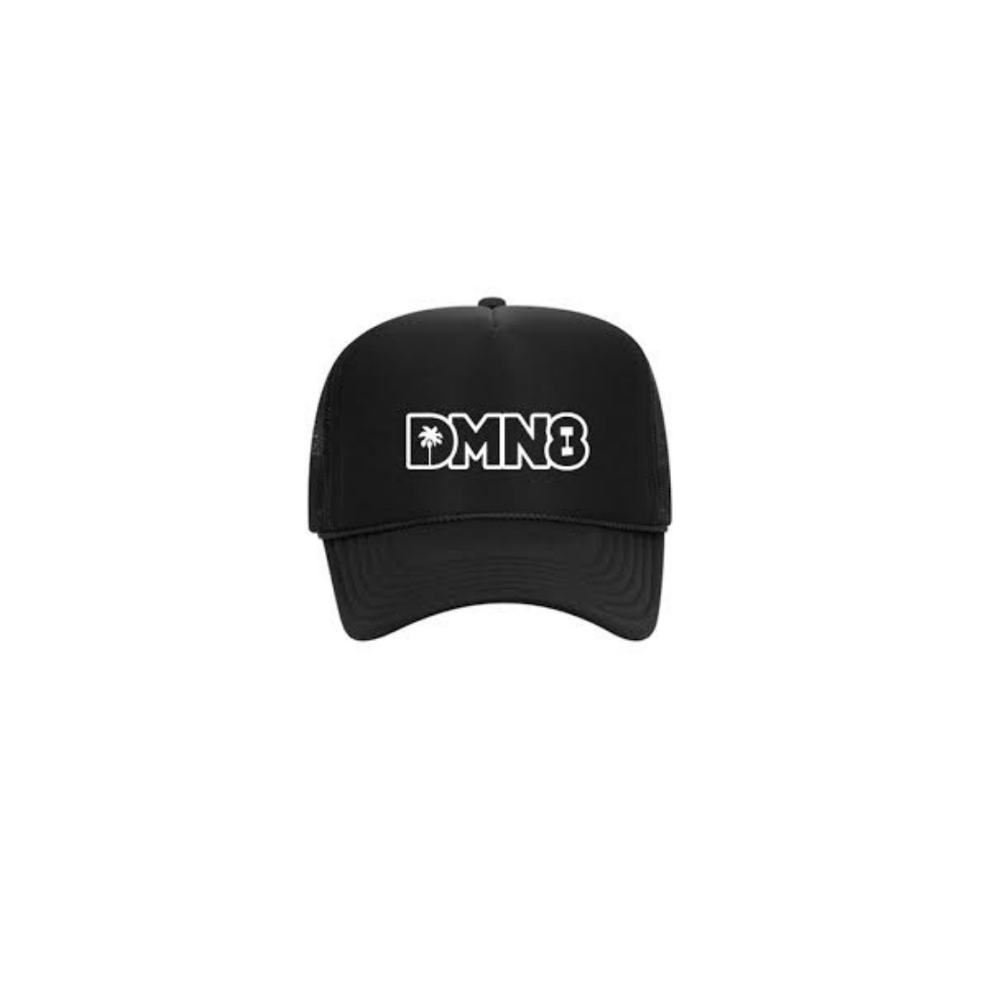 "NEW Black ""DMN8"" Hat"