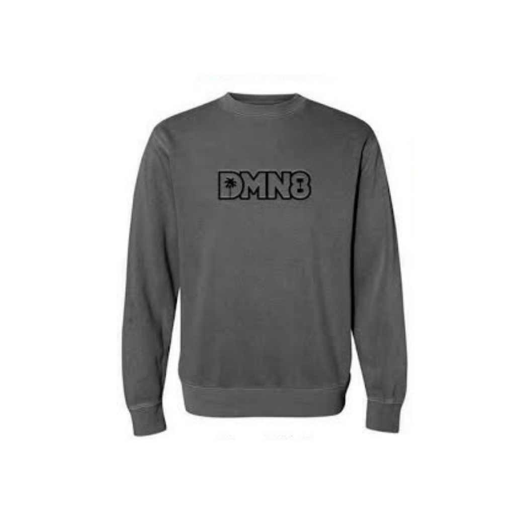"NEW Black Wash ""DMN8"" Sweater"