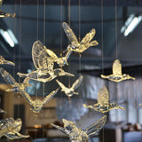 12 PC High Quality European Crystal Acrylic Bird Ceiling Decorations - Richard Castaneda
