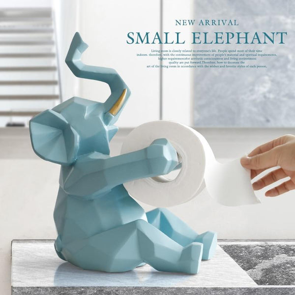 Animal statue Craft Toilet Paper Holder - Richard Castaneda