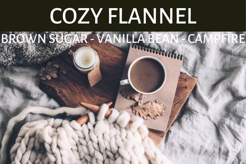 Cozy Flannel Candle