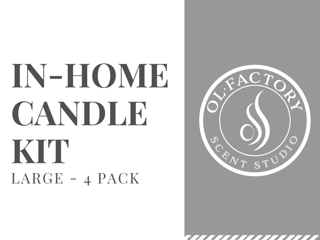 In-Home Candle Kit (Large: 4-pack)