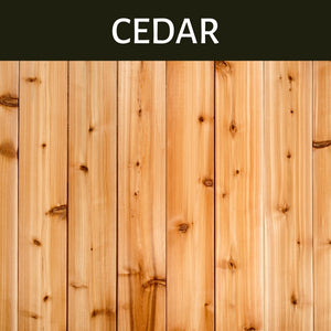 Cedar Scented Products
