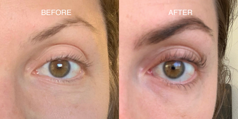 Nulastin® Dual Lash Serum Real Results Before and After