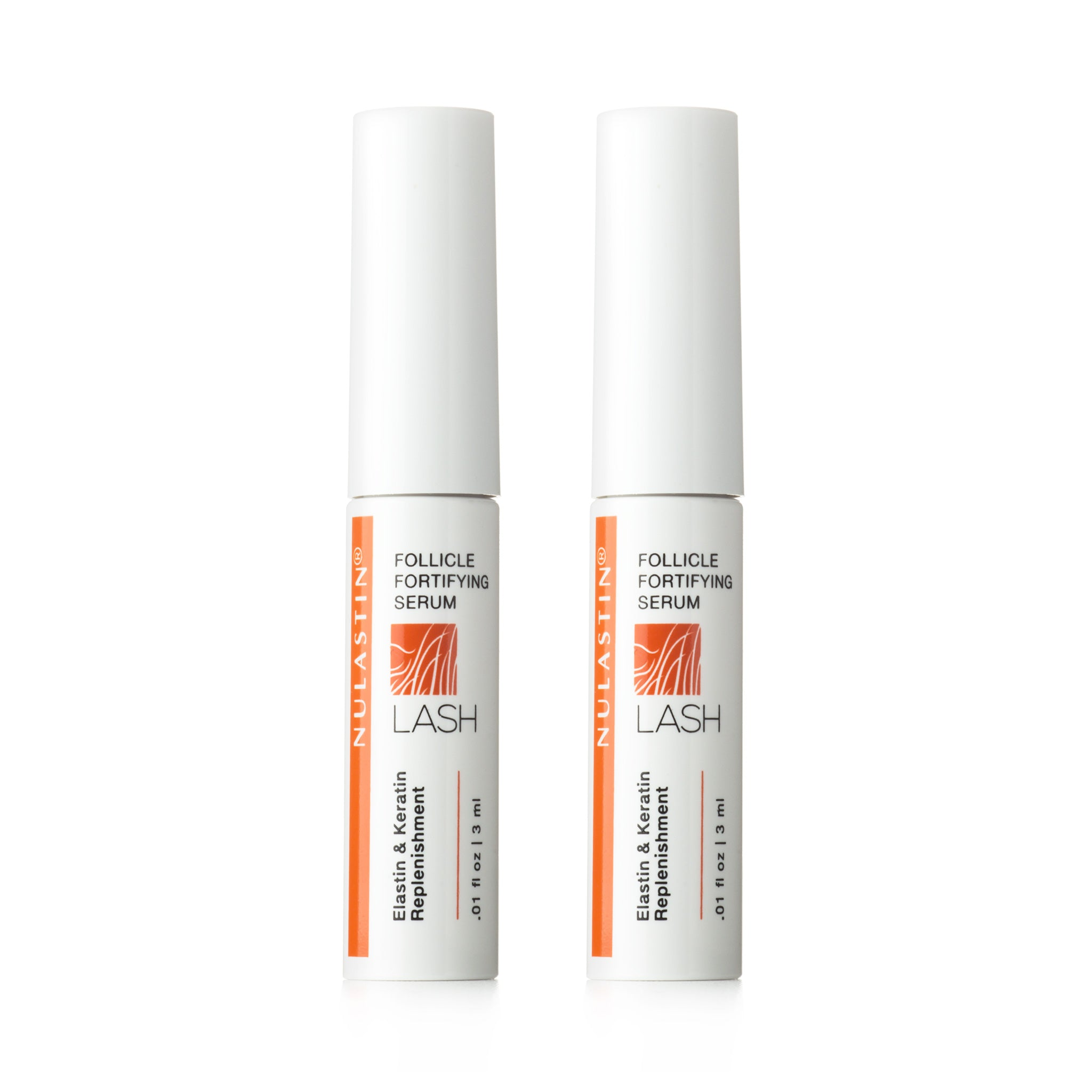 New! LASH 2-PACK Follicle Fortifying Serum with Keracyte® Elastin Complex