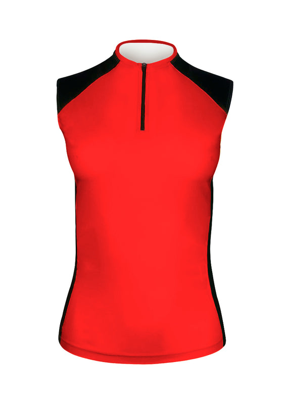 Women's Sleeveless Track Top