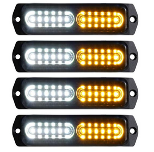 4pcs 12-LED Mount LED Light Bars