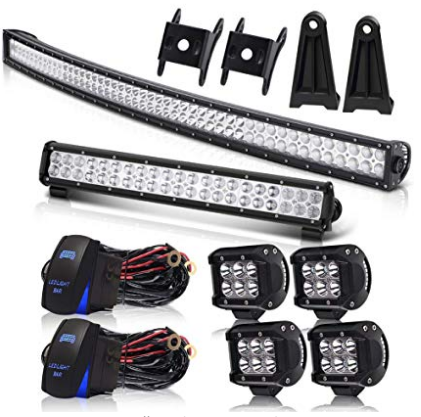 "50"" LED Light Bar with Wiring Harness"
