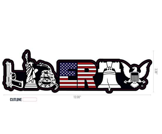 Liberty Decal for Truck