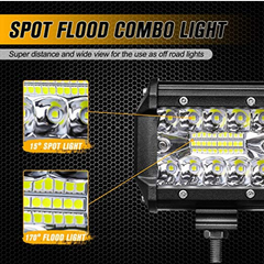 "4""LED Light Bar (120 watts)"