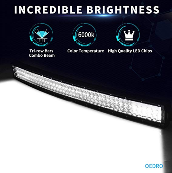 "32"" Curved LED Light Bar (405 watts)"