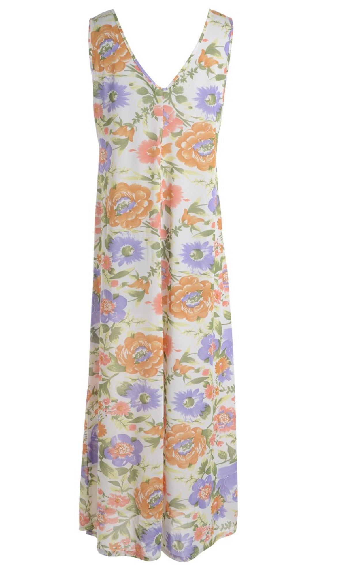 The Mia Maxi flower dress