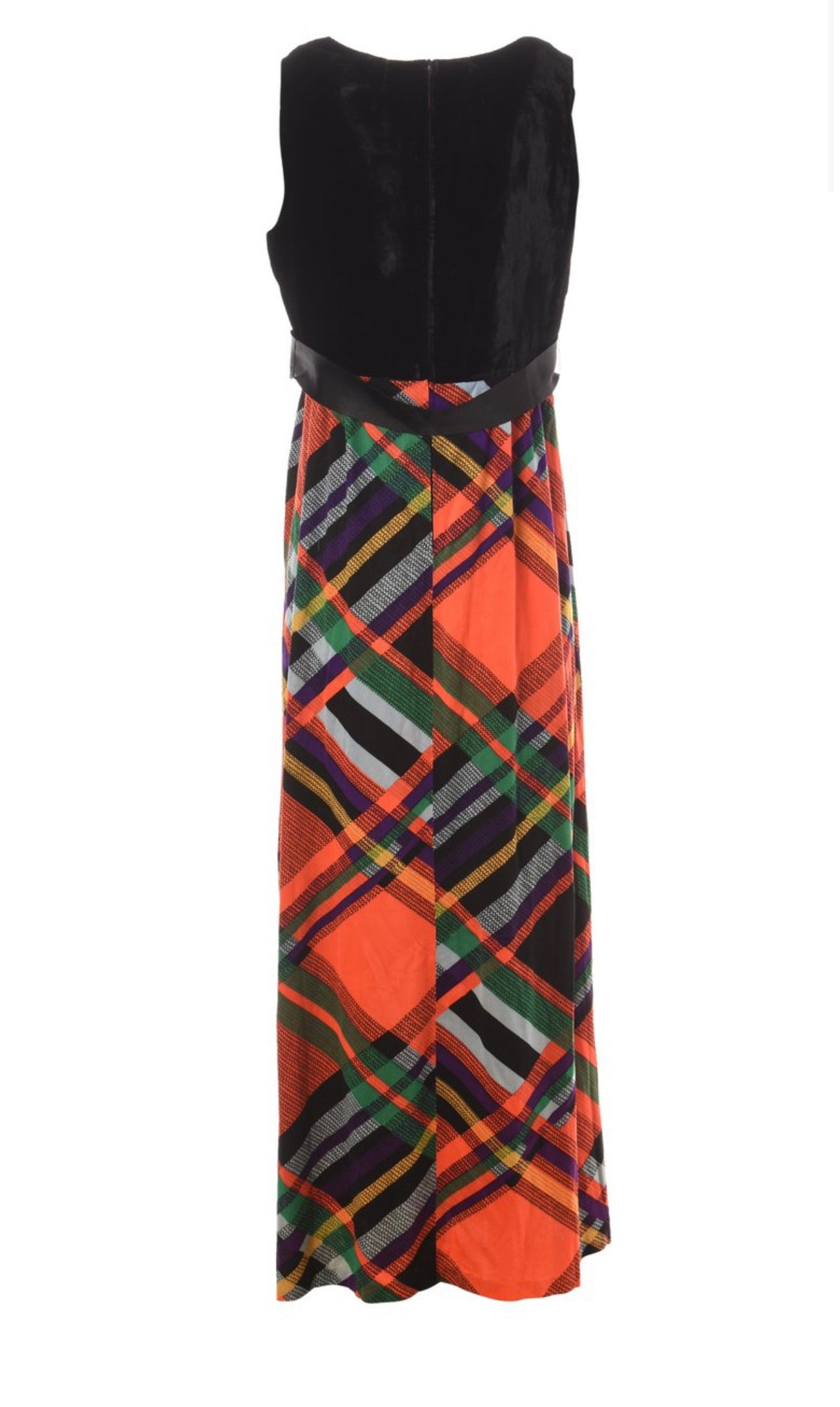 The Highlands Sleeveless Plaid Dress