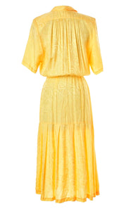 The Elizabeth Canary Maxi Dress
