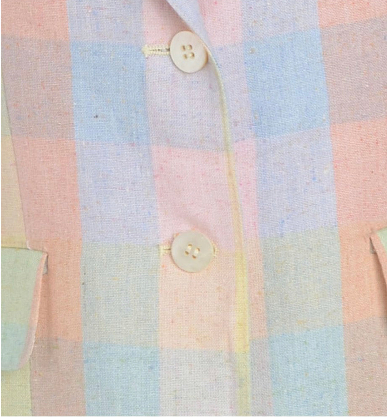 The Sara Checked Pastel Blazer